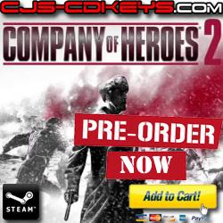 company of heroes 2 cd key steam