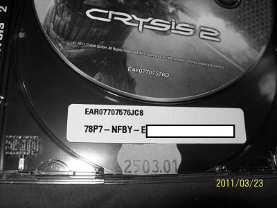 Extrandai • blog archive • crysis 2 activation wizard key.