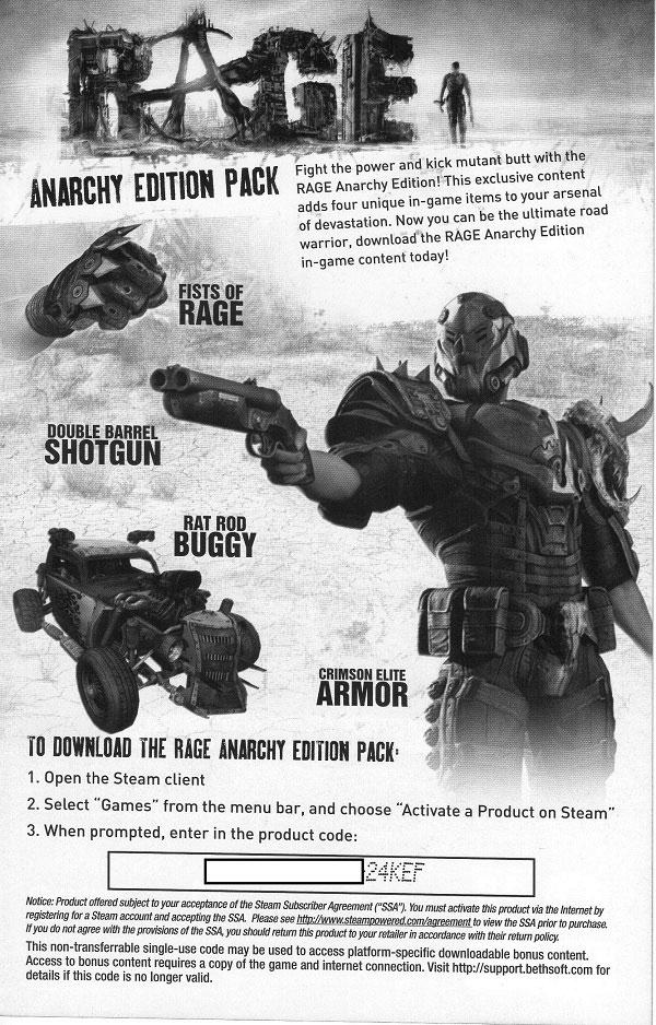 Rage Steam CD Key