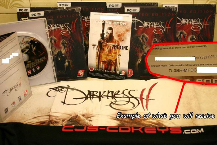 The Darkness 2 - CD Key for Steam Download