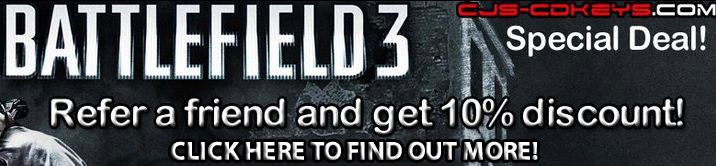 battlefield 3 promo discount coupon code