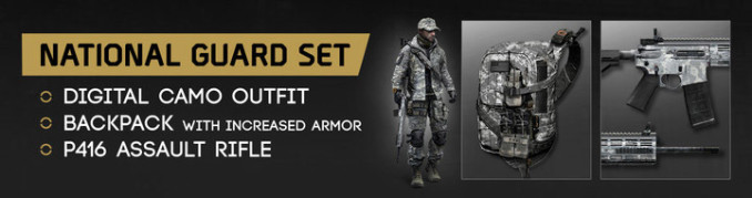 buy national guard gear set key for division
