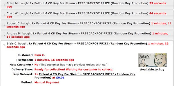 how to buy steam keys to sell