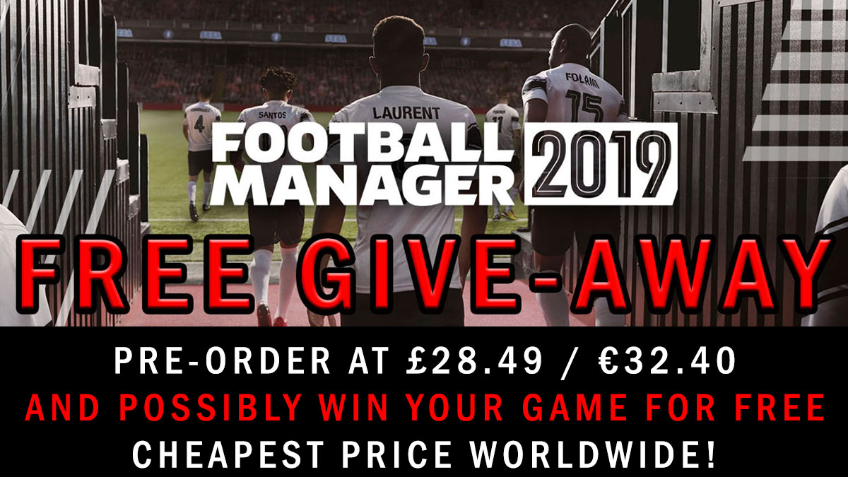 Football Manager 2019 Steam Key (PC Download)