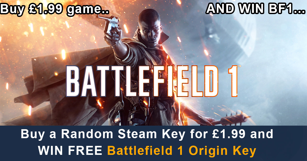 free battlefield 1 cd key