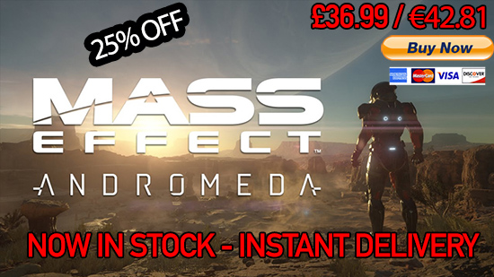 Mass Effect Andromeda Discounted PRice