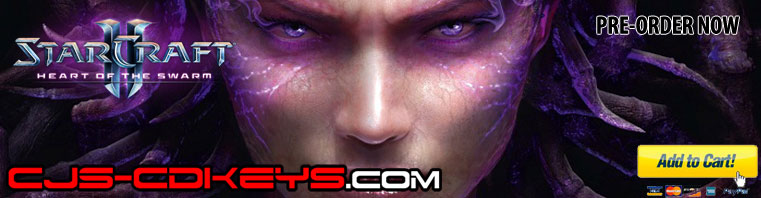 Buy Starcraft 2 Heart of the Swarm CD Key